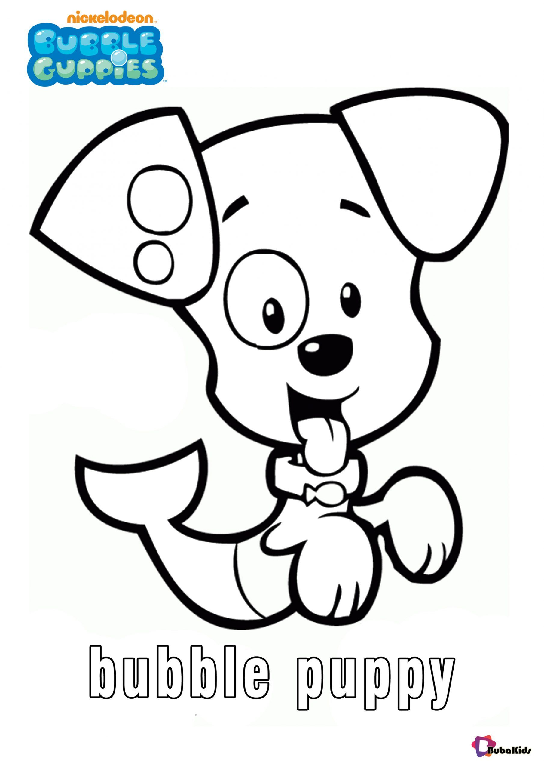Printable Bubble Guppies Character Coloring Pages Bubble Puppy Collection Of Cartoo Bubble Guppies Coloring Pages Cartoon Coloring Pages Kitty Coloring Pages