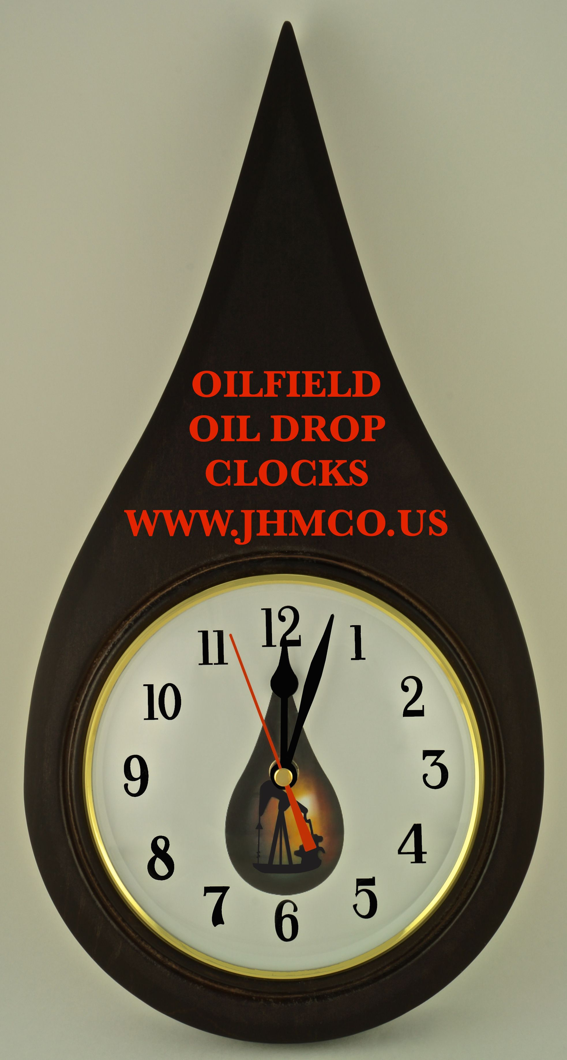 Genial Oilfield Clocks For Office Decor With Oil Well Pump Jack. John H. Martin  Company   Since 1937