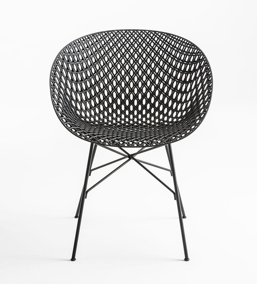tokujin yoshioka\'s matrix chair for kartell features innovative 3D ...