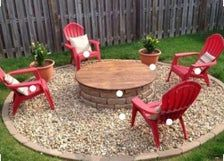 Photo of Fire Pit Covers are Wood Rustic Fire Pit Covers that are Weatherproof Fire Pit Covers