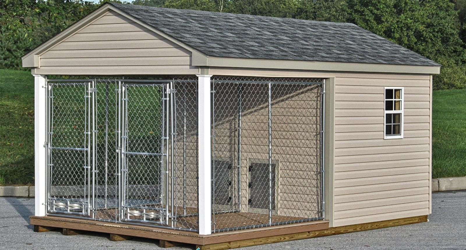 Top 10 Best Large Outdoor Dog Kennels For Sale Comparison Comparison Dog Kennels Large Dog Kennel Cover In 2020 With Images Dog Kennel Outdoor Dog Houses Dog Kennel
