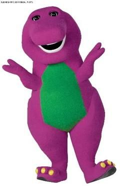 Barney!!! I love you   you love me   we're a happy family