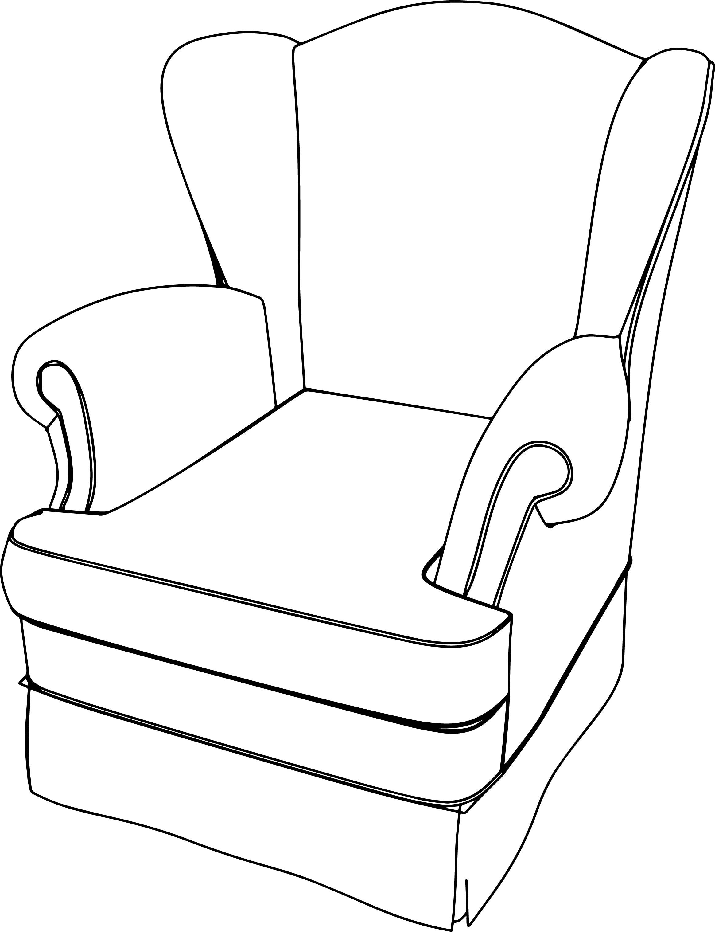 Cool Classic Armchair English Coloring Page Classic Armchair Armchair Round Back Dining Chairs