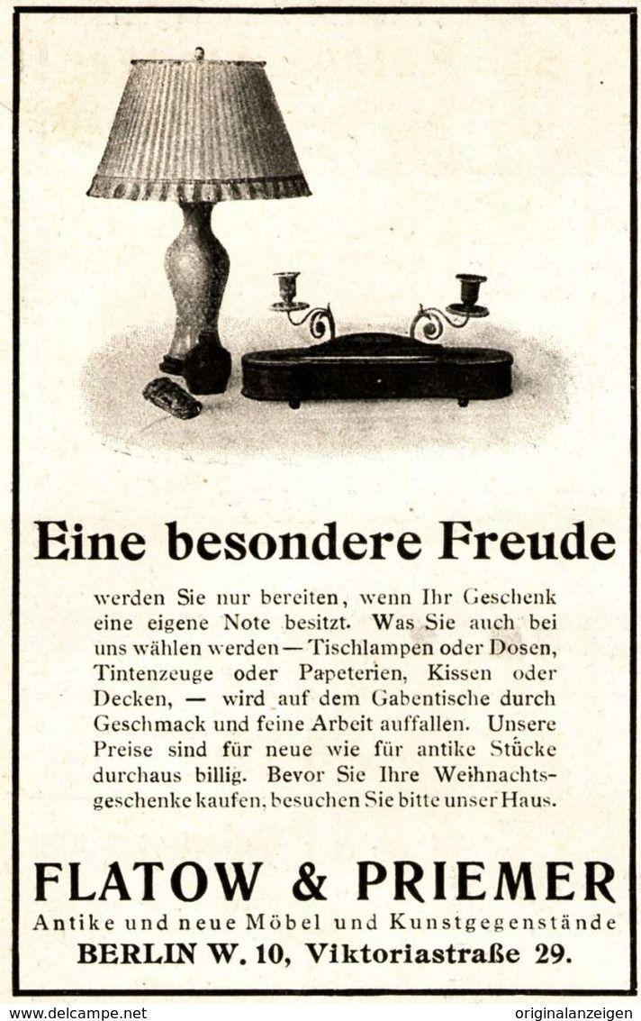 Astounding Berlin Möbel Ideen Von Original-werbung/ Anzeige 1925 - Antike MÖbel Flatow