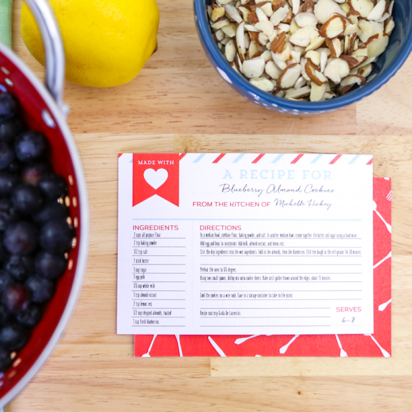 Free printable recipe cards potluck meals recipe cards and free free printable recipe cards make a great addition to any potluck meal carry a few forumfinder Choice Image