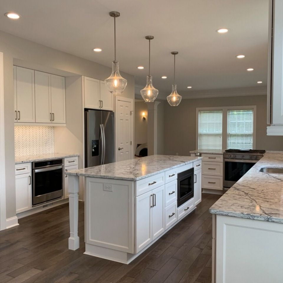 Villages Of Urbana New Kitchen Remodel In 2020 Custom Kitchens Kitchen Remodel Remodeling Companies