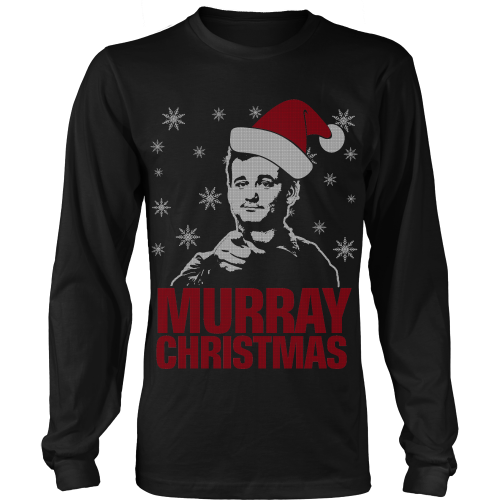 murray christmas ugly sweater limited edition
