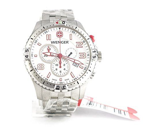Mens Watches WENGER Squadron Chronograph 77059 Man\u0027s watch