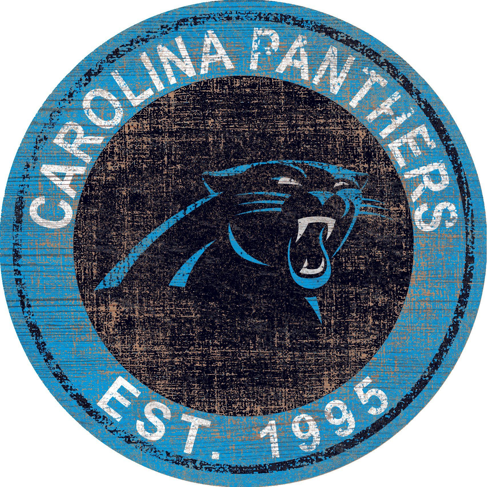 Carolina panthers heritage logo