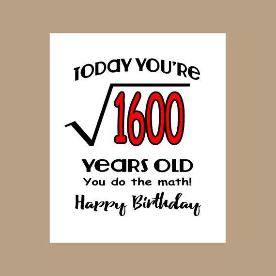 92 Birthday Cards 40 Years