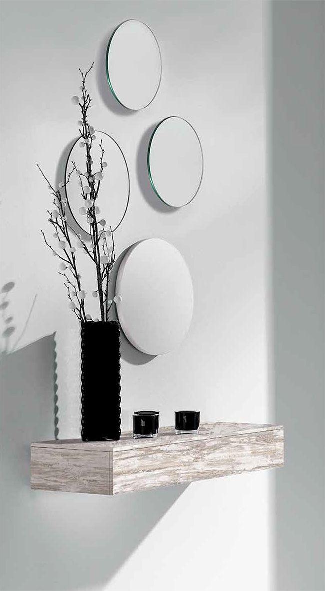 Recibidor lacado sofisticado interiors pinterest recibidor entrada y recibidores peque os - Recibidores pequenos modernos ...