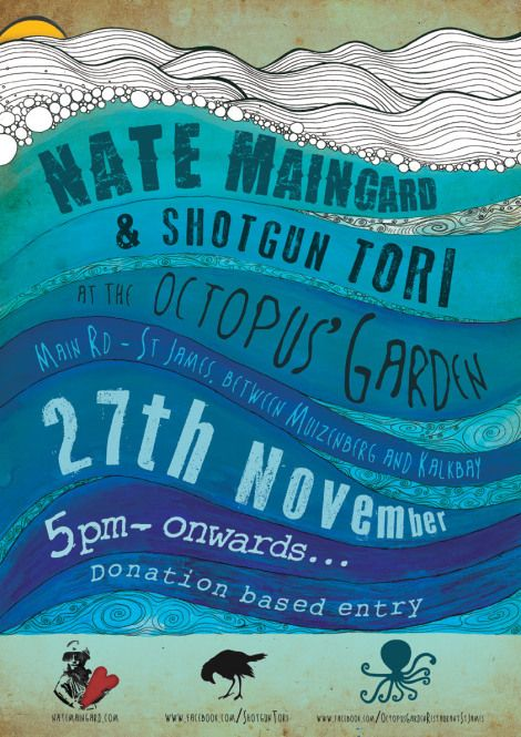 Live Show Poster By Terri Hutchings.