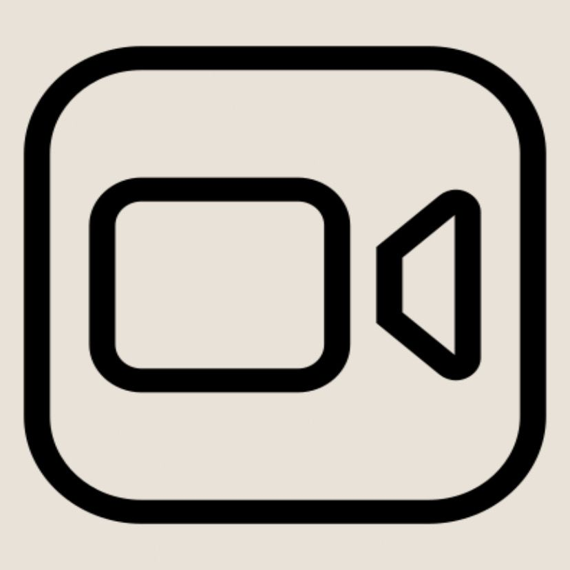 Facetime App Iphone Photo App App Store Icon Minimalist Icons