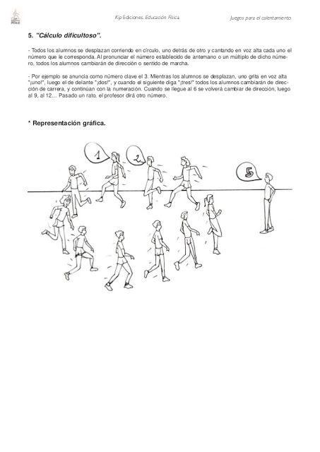 JUEGOS PARA INICIAR LA SESIÓN DE EDUCACIÓN FÍSICA - Pregúntale al ...