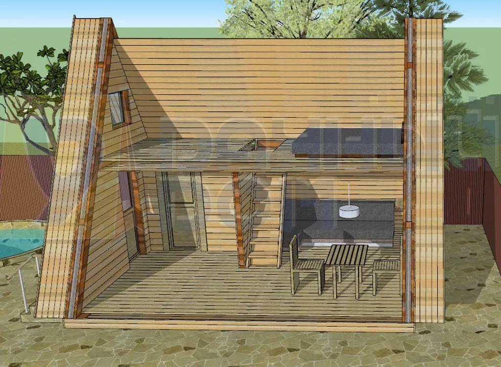 дом шалаш проекты размеры и фото: 10 тыс изображений ...