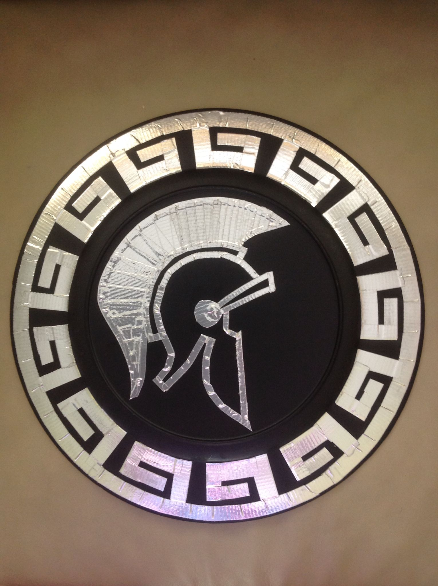 Ares shield with greek border made it pinterest ares shield with greek border biocorpaavc Image collections