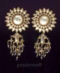 19 century antique kundan jewellery - Google Search