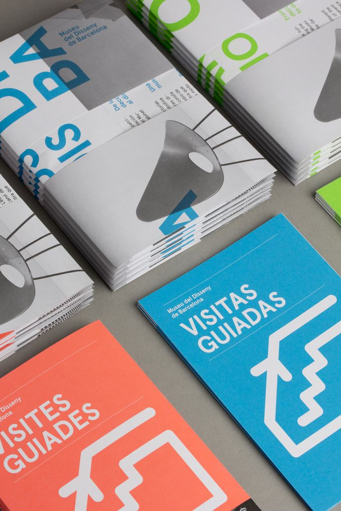 DHUB Leaflet (Print, Identity) by Lo Siento Studio, Barcelona — Designspiration