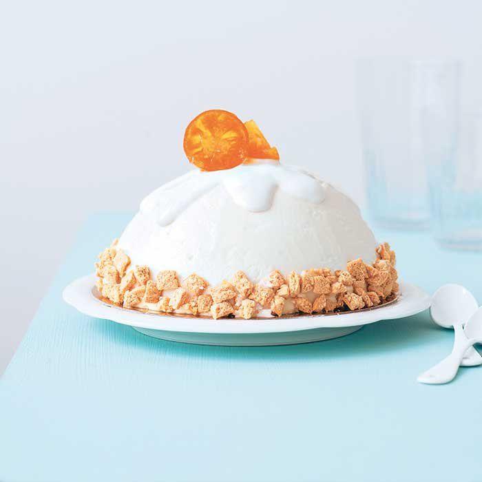 Mousse d'amandes aux fruits caramélisés - Marie Claire