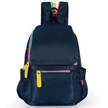 Boys Girls Waterproof Backpack Large Capacity Travel Bag Kids Students Soft Schoolbag Size SNavy by Completestore *** You can get more details by clicking on the image.