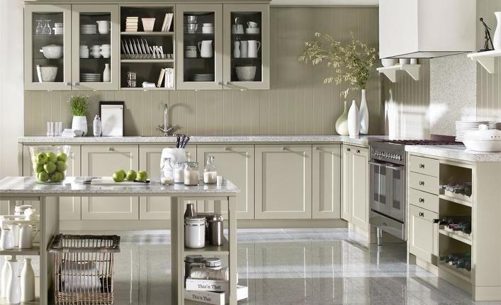 Landhausküchen mit kochinsel  küchen mit kochinsel landhausstil - Google-Suche | Küche in weiß ...
