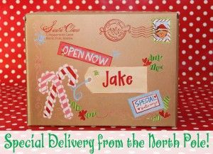 photograph about Free Printable North Pole Special Delivery Printable titled North Pole Distinctive Shipping Printable towards Santa