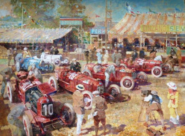 '1924 Grand Prix d'Europe' by de Bruyne Pullman Gallery