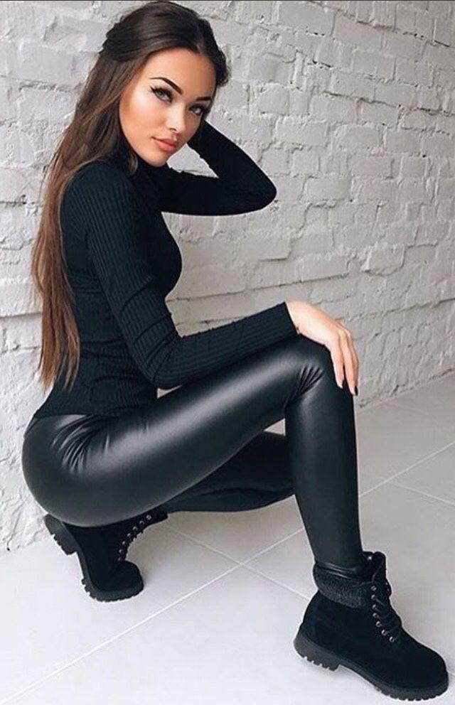 ass pants Girls latex