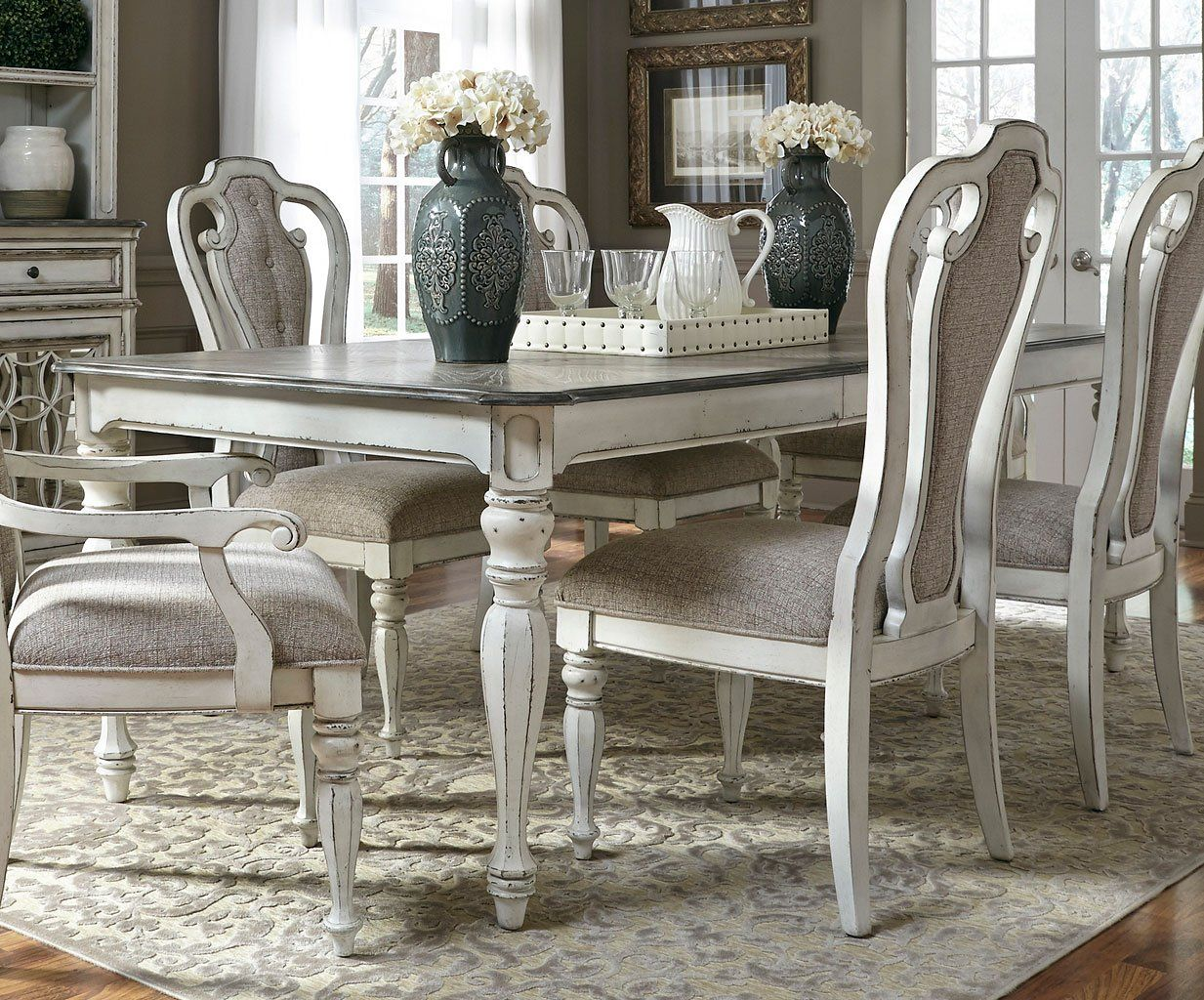 Magnolia Manor 108 Inch Rectangular Dining Table Rectangular