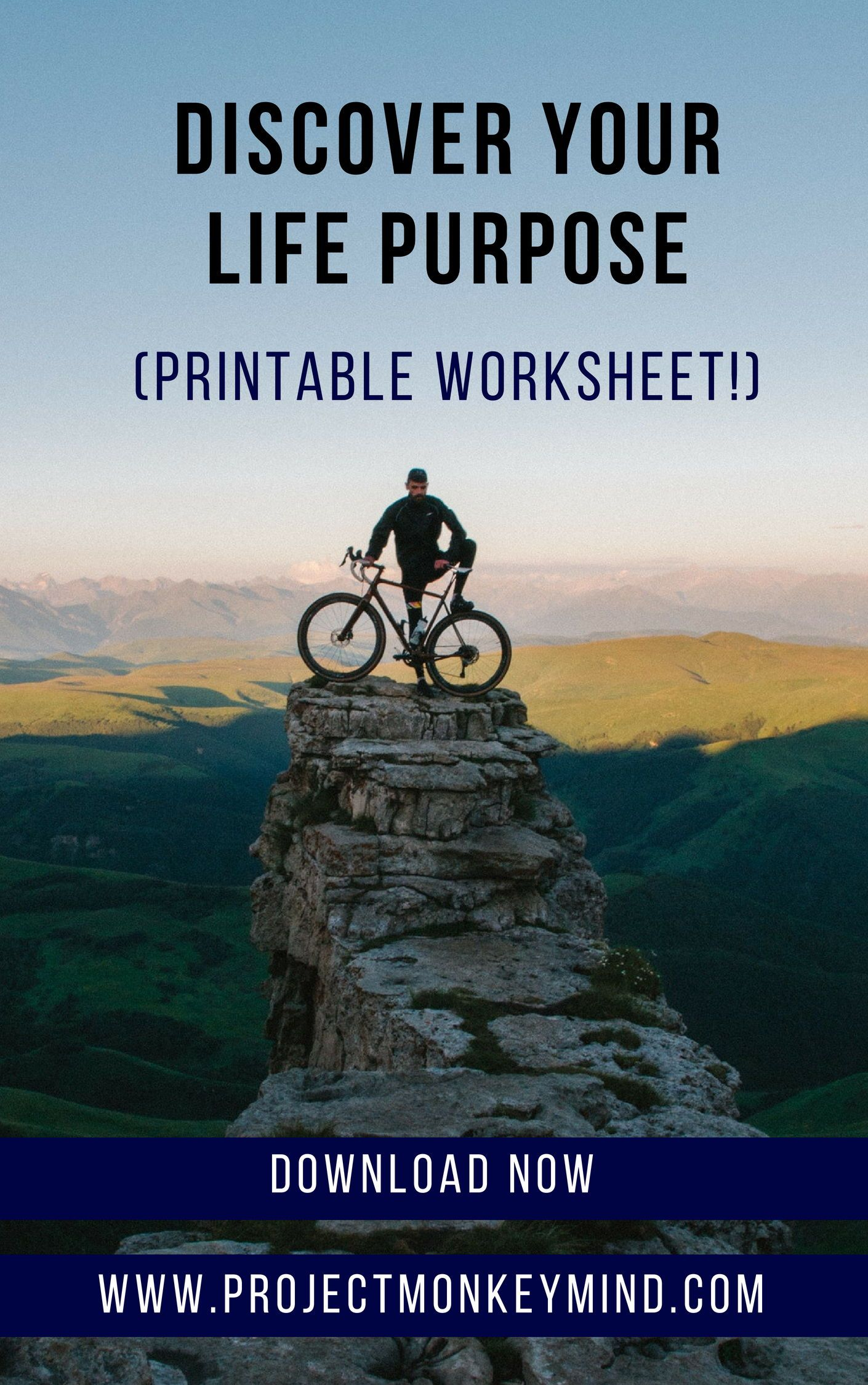 Find Your Life Purpose Today With This Printable Worksheet