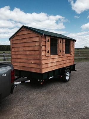 Tiny House Model 2 Is 7 X 10 Features New Titled
