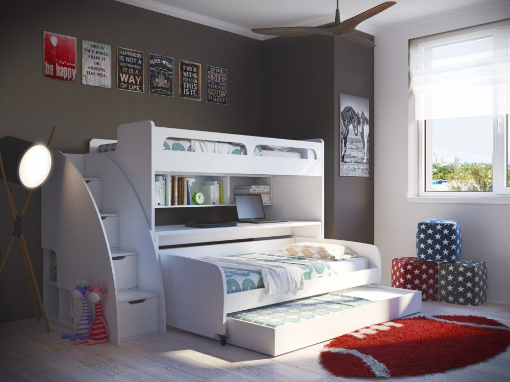 Find This Pin And More On Bel Mondo   Twin Bunk Bed With Sofa, Table And  Trundle.