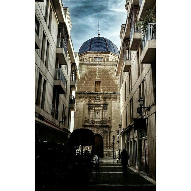 Perspectiva Basílica de Santa María