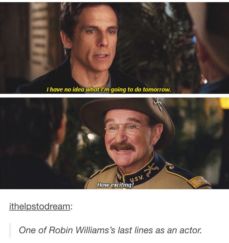 Gah My Heart Robin Williams Night At The Museum Fab Quotes