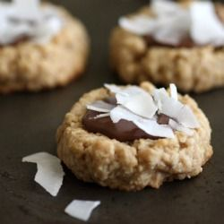 Coconut-nutella-oatmeal-cookies-recipe