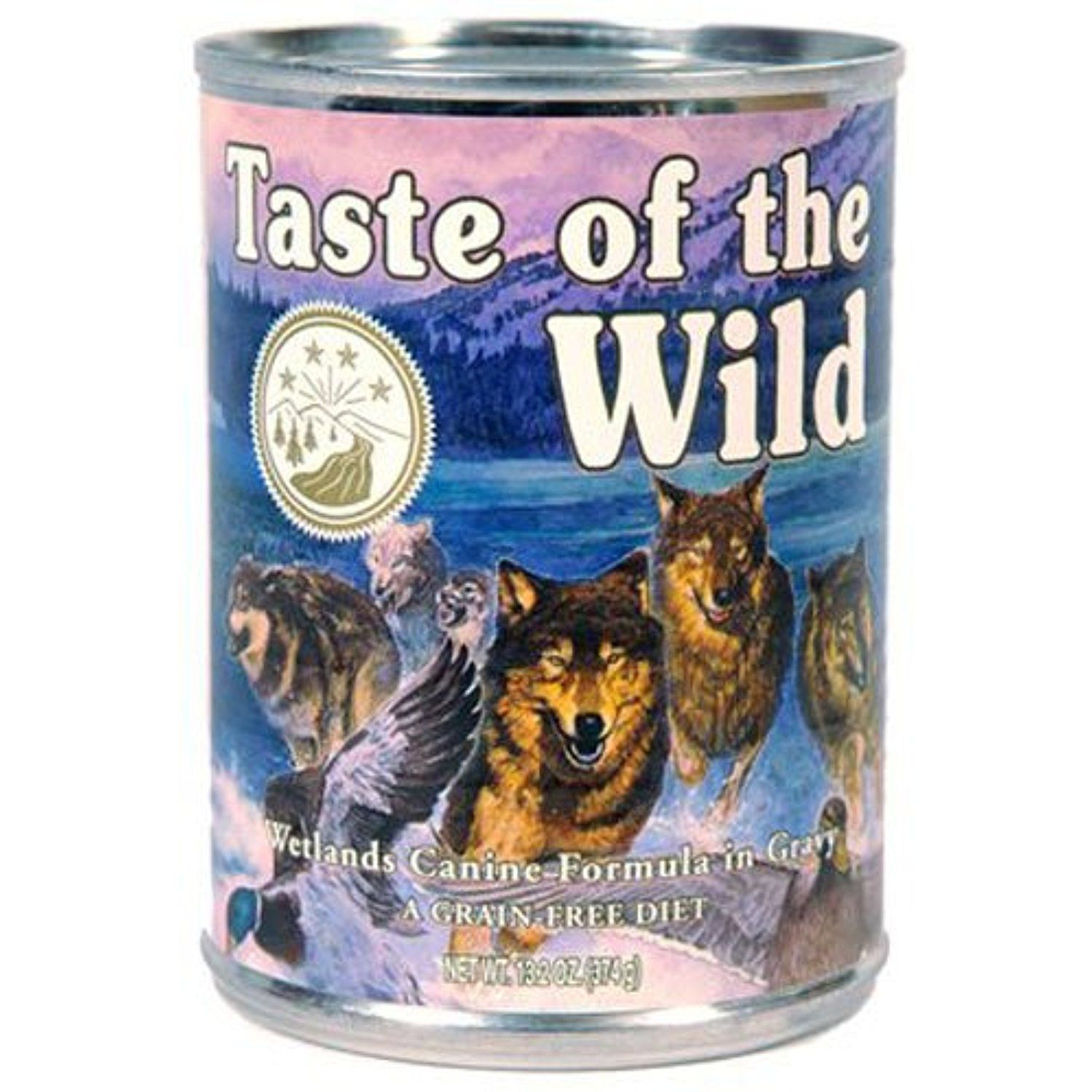Taste of the wild fowl dog food 132ounce you can