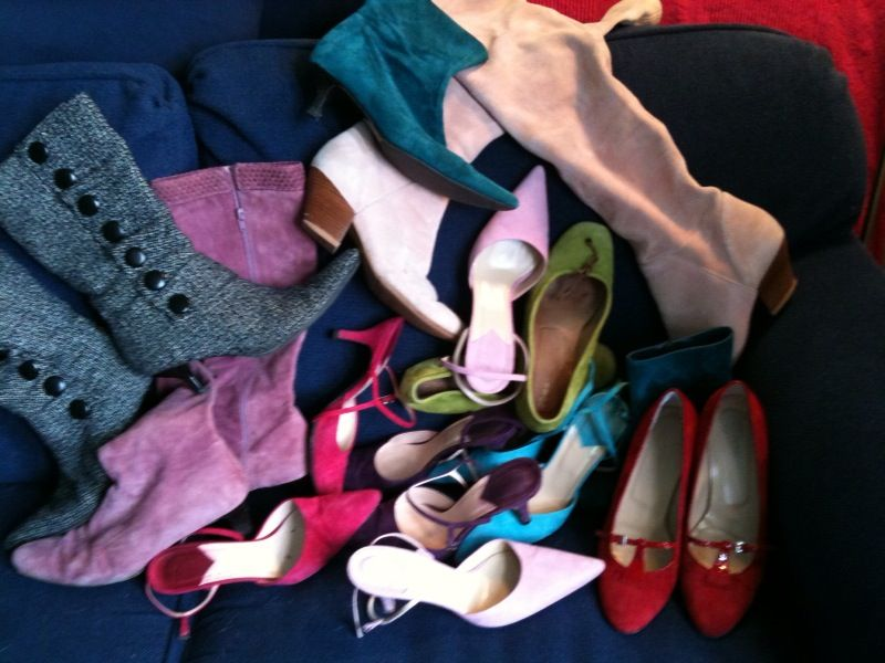 Lots! All worn during one year's Edinburgh Book Festival