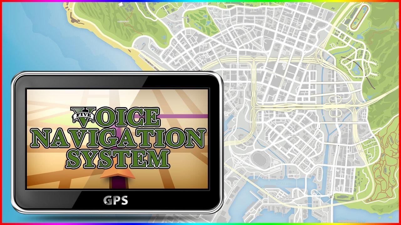 GTA IV Voice Navigation for GTA 5 | GTA5 Mods | Pinterest