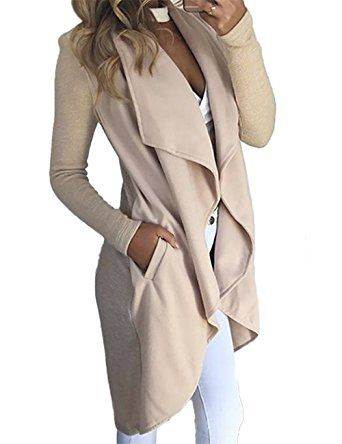 fb9f552dcd3 VintageRose Womens Long Sleeve Knit Coat Tops Outwear with Pockets Cardigan  Coats at Amazon Women's Clothing store: