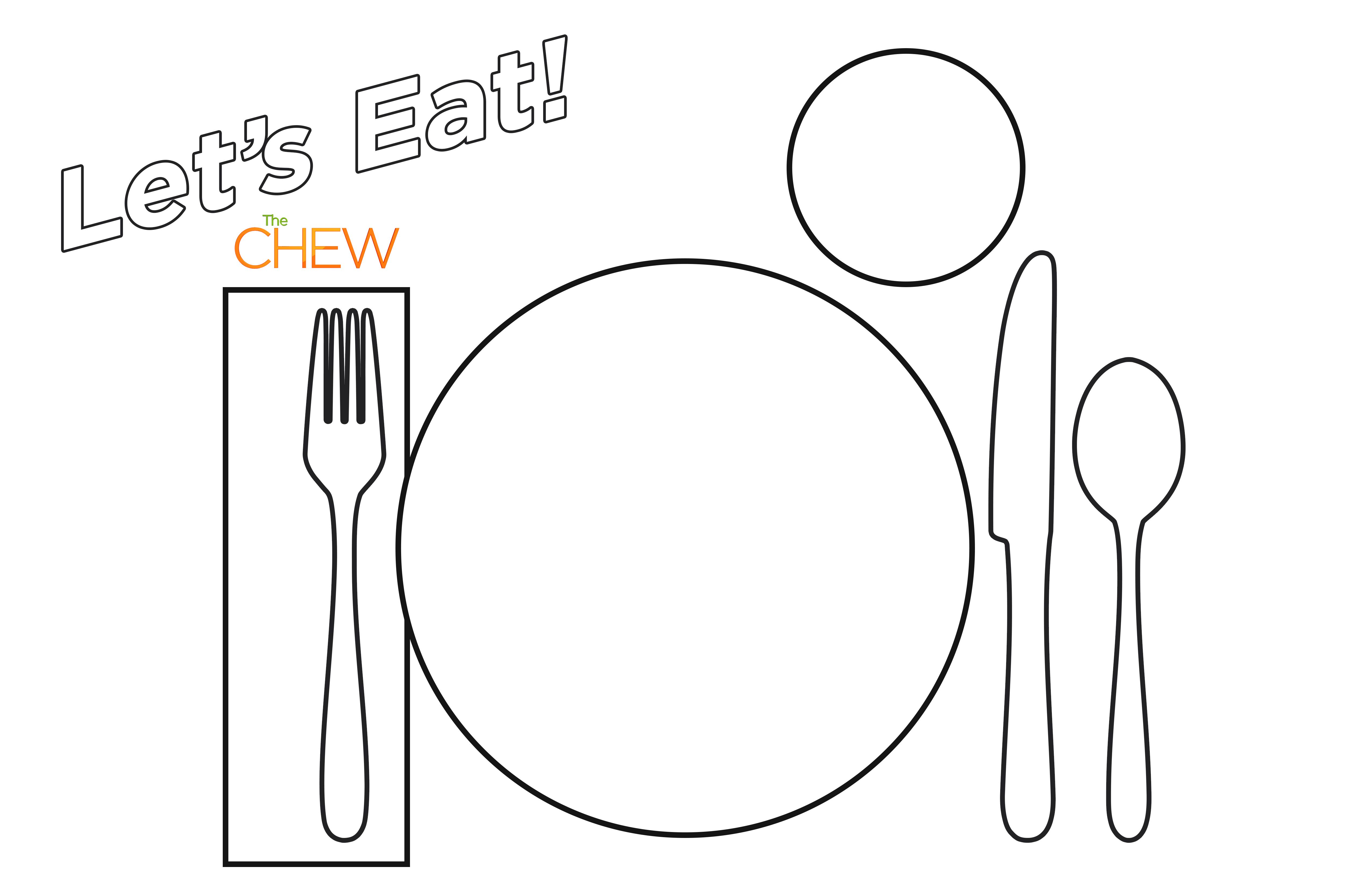 Teach Your Kids How To Set The Table The Chew Printable Chart Formal Table Setting Table Setting Photos