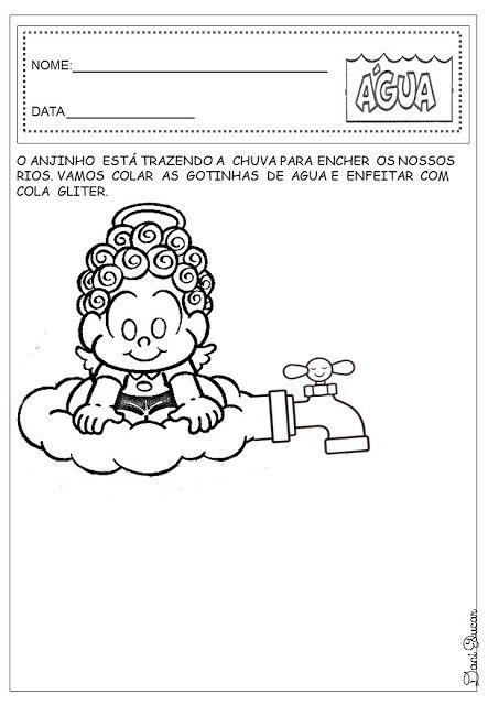 Muito Dani Educar : Atividades água educação infantil | PROJETO AGUA  VU83
