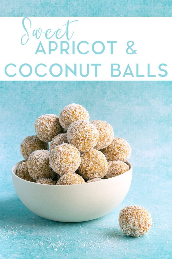Easy To Make Sweet Coconut And Apricot Balls With Chia And Sunflower Seeds Perfect For A Nut Free Lunchbox Lunchbox Treats Kids Lunch Recipes Baby Food Recipes
