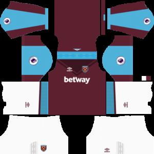 West Ham United 2017 2018 Dream League Soccer Kits Logo Soccer Kits West Ham United League