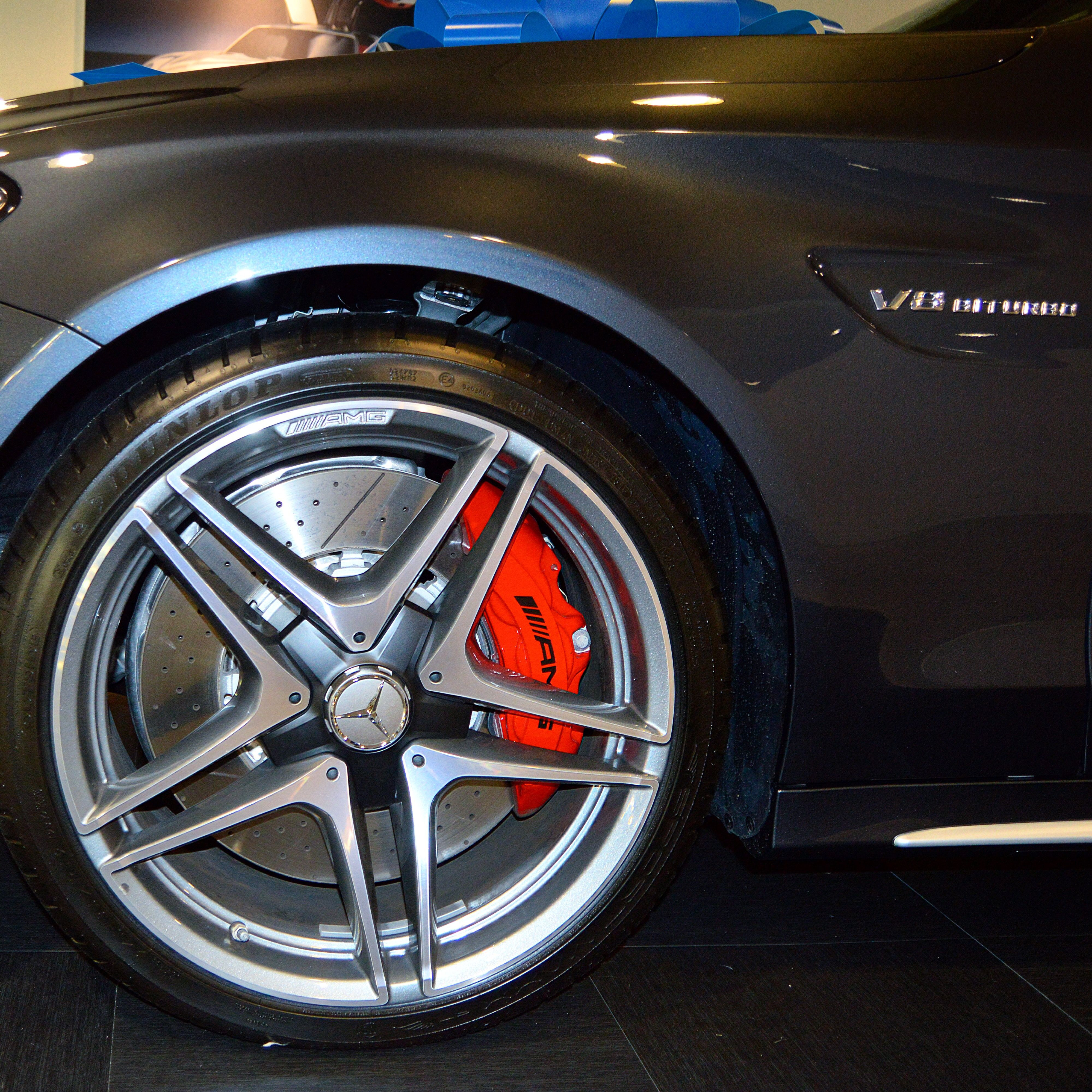 Red Brake Calipers To Match The Black Red Pepper Interior Of This