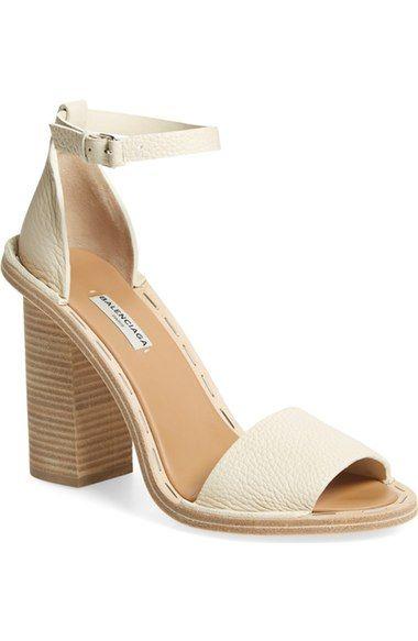f652dade783 Balenciaga Wood Heel Sandal (Women)