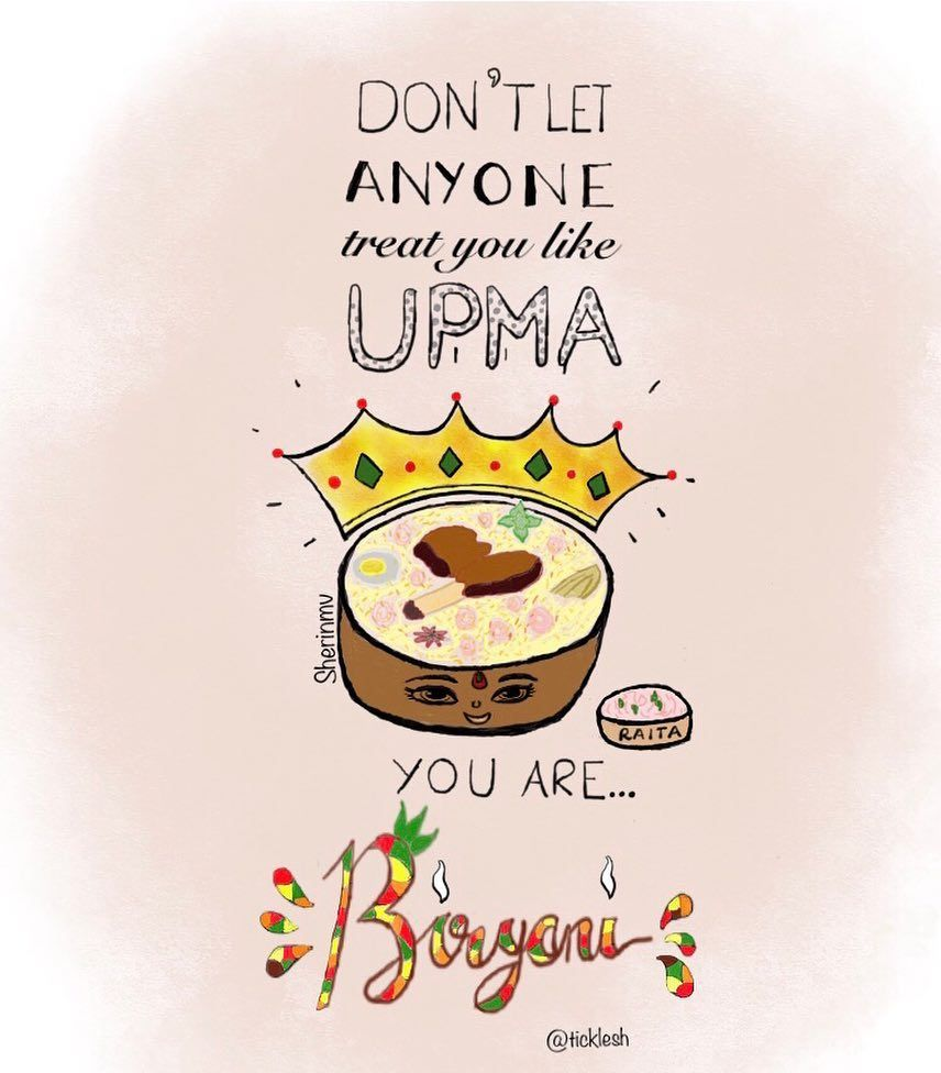 You Are Biryani I Have Wanted To Illustrate This Quote By