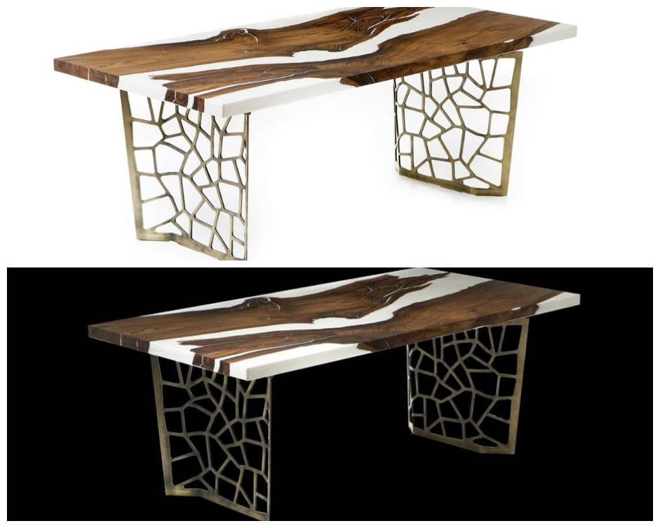 The River Table A Resin Wood Design Statement For Home