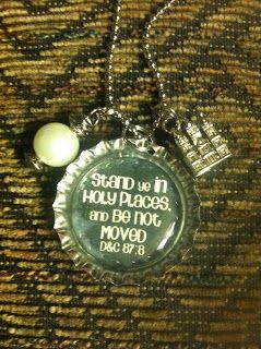 Stand in Holy Places Necklace