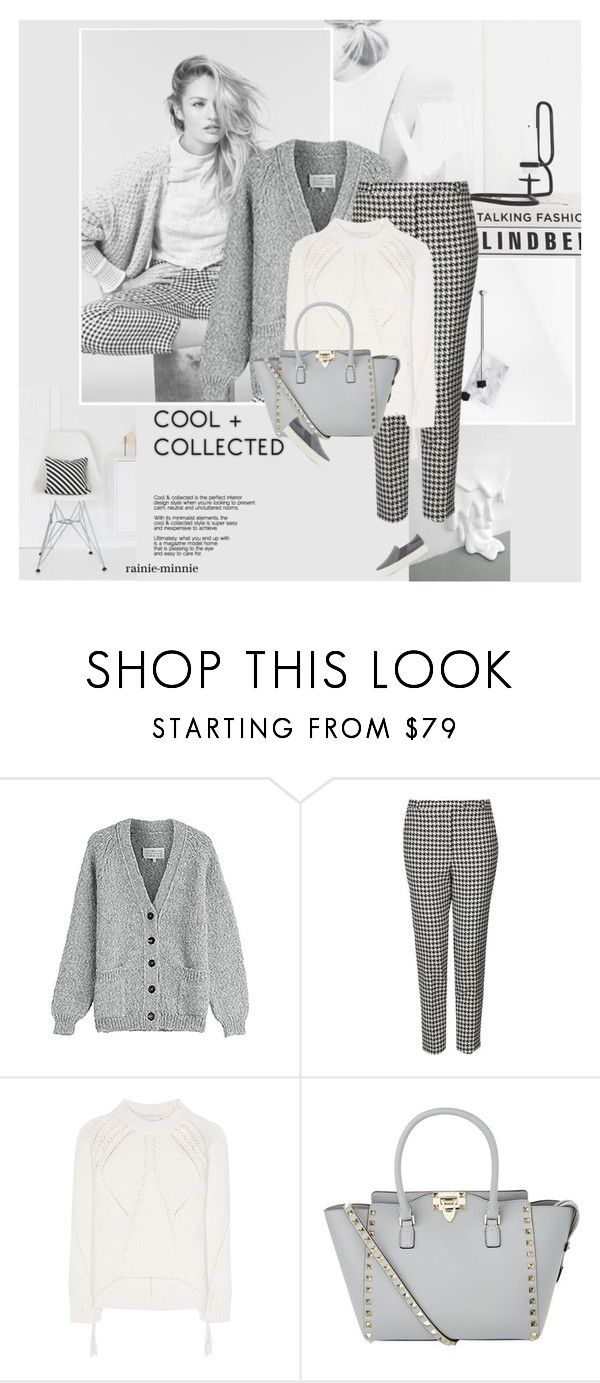 """""""Edgy Minimalist"""" by rainie-minnie ❤ liked on Polyvore featuring Maison Margiela, Topshop, 3.1 Phillip Lim, Valentino and Vince"""