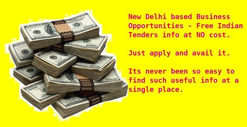 Huge database of Delhi Tenders can easily be located at:  http://tenders.indiamart.com/delhi/